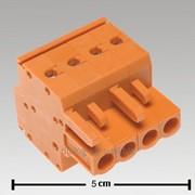 0005-4608-000 Вставная блочная клемма Cage Camp 2x4po 0,2-2,5qmm 5,08 фото