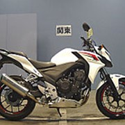 Мотоцикл naked bike Honda CB 400 F пробег 8 048 км фото