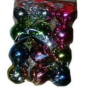 Шары новогодние 12 шаров 3см фото