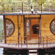 Дома плавучие, деревянные плавучие дома фото