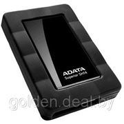 Жёсткий диск переносной A-Data SH14 750GB black фото