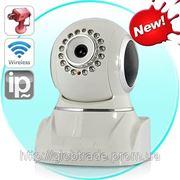 Беспроводная IP-Камера с Pan и Tilt (ИК-Фильтр-отсекатель, Ночного видения, Обнаружение Движения) фото