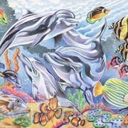 Раскраска по номерам Жизнь океана фото