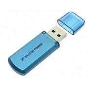 4Gb Helios 101 Silicon Power USB-флеш накопитель, USB 2.0, SP004GBUF2101V1B, Голубой фото