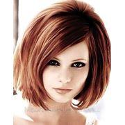 Укладка волос с мытьем волос патентованы ми препаратами без использования косметики от 15 до 30 см фото