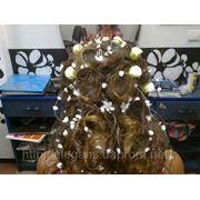 Свадебная прическа на длинные и средние волосы фото