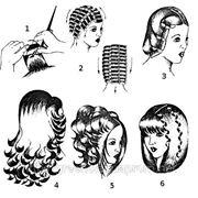 Укладка волос с бигуди фото