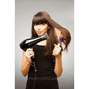 Укладка волос с мытьем волос патентованными препаратами с использованием косметики свыше 45см фото