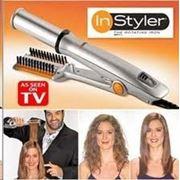 ПРИБОР ДЛЯ УКЛАДКИ ВОЛОС, INSTYLER, укладка волос, домашняя укладка волос, утюжки, утюжок для волос фото