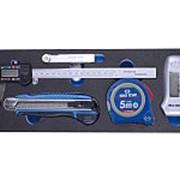 Набор измерительных инструментов ложемент king tony 9-90305tqv фото