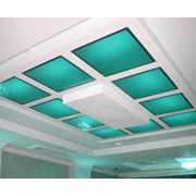 Потолок стеклянный, потолок из стекла, стекло для потолка, производство, изготовление, продажа, монтаж, Украина фото