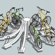 Велопарковки фото