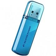 8Gb Helios 101 Silicon Power USB-флеш накопитель, USB 2.0, SP008GBUF2101V1B, Голубой (Неон) фото