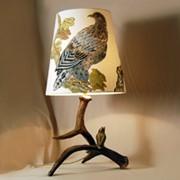 Лампы из рогов фото