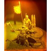 Сувенир голографический с подсветкой настольный Скандинавы фото