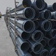 Трубы водопроводные ПВХ. Трубы ПВХ для напорного водоснабжения фото