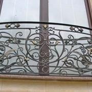 Ограждения балконные кованые фото