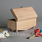 Заготовка в виде деревянной шкатулки №280896 фото