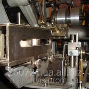 Механизм наклейки широкой этикетки для автомата М6-АРУ. фото