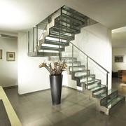 Лестницы металлические, лестницы из стекла и металла фото