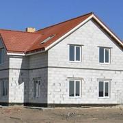 Строительство жилых домов из газобетона фото