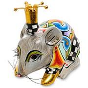 Статуэтка Мышь Фред 12х10,5х7,2см. арт.TG-4301 (Thomas Hoffman) фото