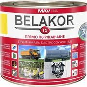 Грунт-эмаль Belakor 15 прямо по ржавчине 3 в 1 быстросохнущая фото