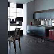 Современная кухня Riciclantica Alluminio Verniciato Nero фото