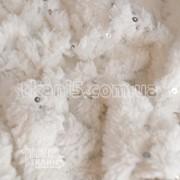 Ткань Мех с пайеткой 2561 фото