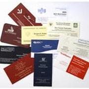 Печать визиток, конвертов, папок фото