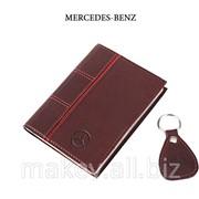 Обложка для водительского удостоверения с брелком MAZDA, 065-07-40 фото