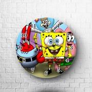 Часы Губка Боб, SpongeBob №1 фото