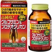 ORIHIRO Glucosamin and proteoglycan Глюкозамин с протеогликаном, курс на 30 дней фото