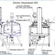 Оборудование для производства мазей нестерильных с подъемом мешалки фото