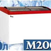 Морозильный ларь с гнутым стеклом JUKA M200S фото