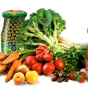 Овощи консервированные (консервы овощные) фото