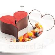Сердечки шоколадные фото