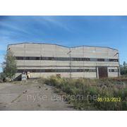 Строение склада площадью 5224,5 м2; фото