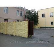 Капитальное строение площадью 345 кв.м. (Гомель, ул. Гагарина, 46), дворовая территория, шлагбаум фото
