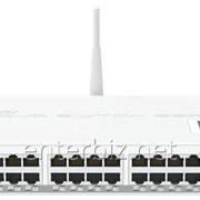 Роутер MikroTik CRS125-24G-1S-2HND-IN (24x1G, 1x1G SFP, L3, WiFi), код 56898 фото