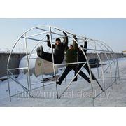 РАСПРОДАЖА! Теплица УРОЖАЙ ЭЛИТ 6м + сотовый поликарбонат 4мм с 12 летней ГАРАНТИЕЙ!!! фото
