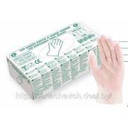 Перчатки виниловые 100шт/уп фото