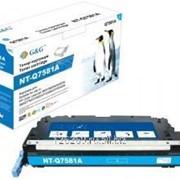 Тонер-картридж G&G голубой для НР Color LaserJet 3800 CP3505 6000стр фото