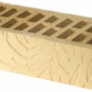 Кирпич керамический рельефный Пальма фото