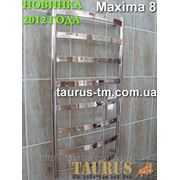 Полотенцесушитель Maxima 8 / 850x500 из н/ж стали (новинка 2012 года) фото