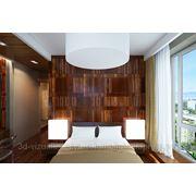 3d визуализация спальни фото