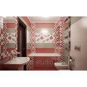 3d визуализация ванной фото