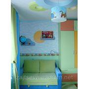Дизайн интерьера детской комнаты фотография