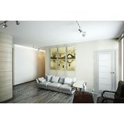 3d визуализация гостиной фото