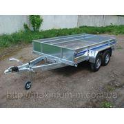 Прицеп для перевозки грузов с тормозами B-300BP 2000 кг фото